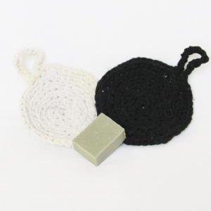 Éponge au crochet traphilo recyclé