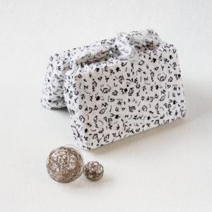 Furoshiki emballage cadeau réutilisable