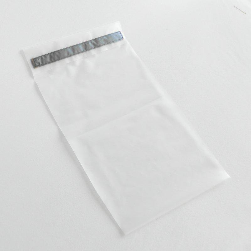 Sac congélation lavable, en film certifié contact alimentaire taille baguette, fermeture à scratch