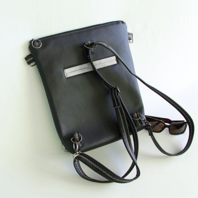 Ernestyne, le sac bandoulière transformable en sac à dos