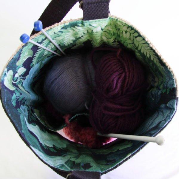 Tricotyne taille 1, sac à ouvrage pratique pour transporter vos aiguilles longues
