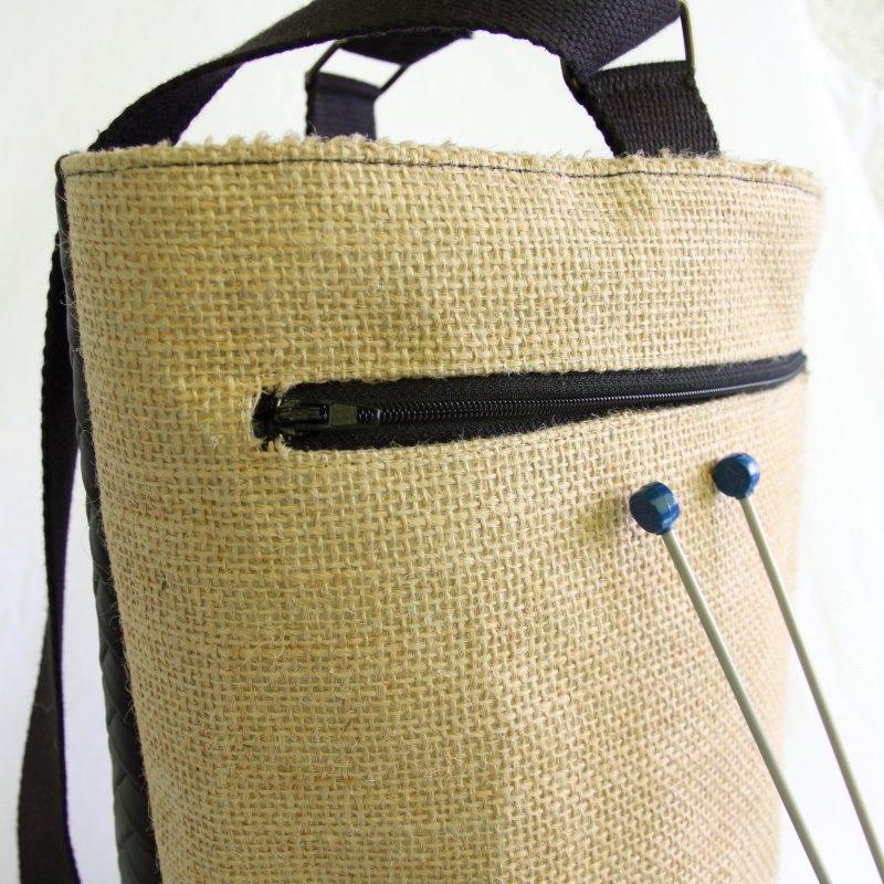Tricotyne taille 1, sac à ouvrage pratique pour vos aiguilles longues
