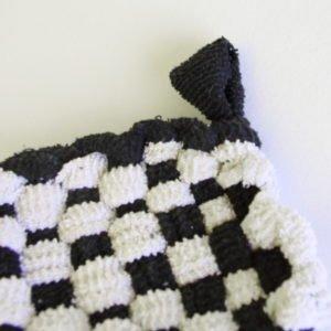Tawashi Chaussette noir et blanc