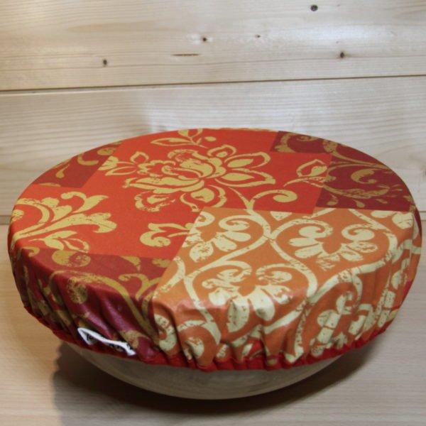Charlotte couvre plat orange, zéro déchet