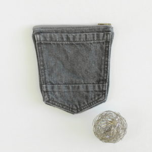 Pock-up, la trousse en poches de jeans