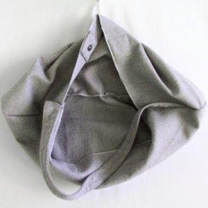 Sac Isaboh gris, le sac bohème chic