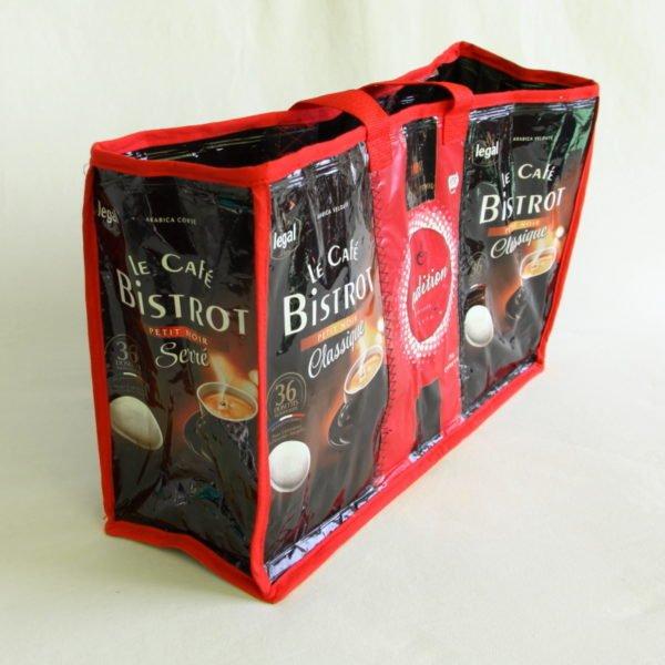 Sac en emballages de café