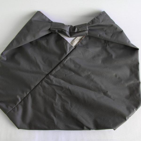 sac origami imperméable gris