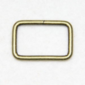 Boucle rectangle en métal pour sacs