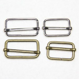 Boucle de réglage rectangle en métal sacs
