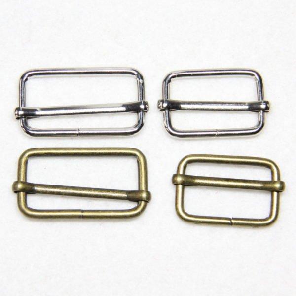 Boucle de réglage en métal pour confection de sacs à main