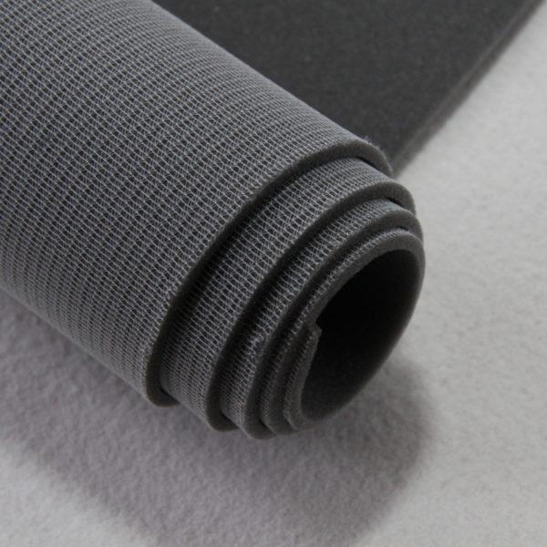 Mousse sur résille de 5 mm d'épaisseur pour confection de sacs