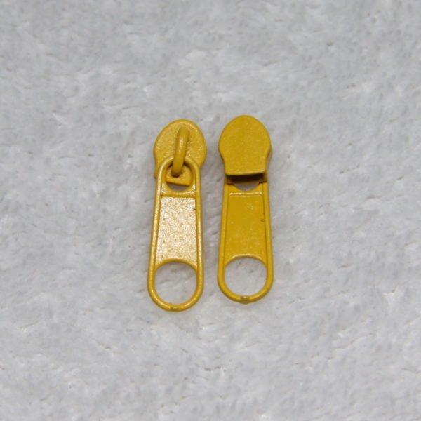 Curseur #3 métallique couleur bouton d'or