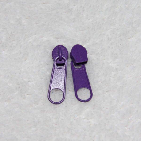 Curseur #3 métallique couleur violet