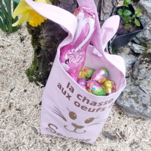 Tutoriel Sac Lapin de Pâques